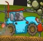 Entrega de frutas da fazenda