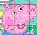 Puzzle das imagens Peppa Pig