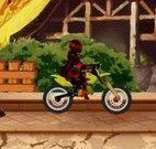 Corrida de moto de meninas