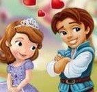 Princesa Sofia beijar namorado