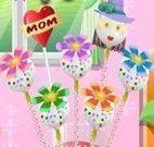 Fazer pirulitos para dia das mães
