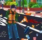 Limpar ruas da cidade