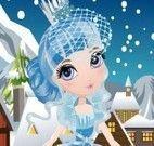 Vestir fada na neve