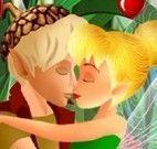 Fada Sininho beijar