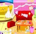 Limpeza do salão para casamento