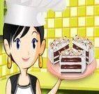 Fazer bolo gelado com Sara