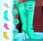 Elsa decorar botas