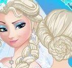 Penteado da noiva Elsa