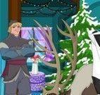 Frozen decorar casa do Natal