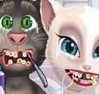 Angela e Tom no dentista