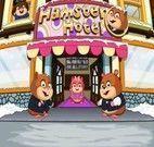 Hamsters no hotel de luxo