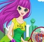Jogar tênis com amigos