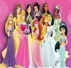 Jogo da memória das princesas