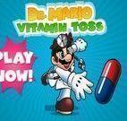 Jogo de Médico do Dr. Mario Bros- Vitamina para tosse