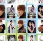 Jogo de memória de Amor do Justin Bieber