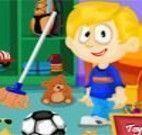 Limpar quarto do menino