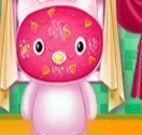 Limpeza facial da Hello Kitty