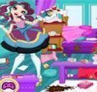 Madeline limpeza da casa
