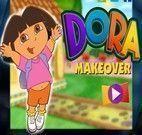 Maquiando Dora