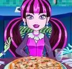 Monster High fazer pizza