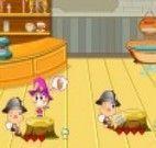 Mundo dos anões - sala de chá