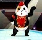 O panda dançarino