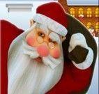 Pegar presente de natal com papai noel
