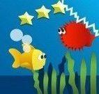Peixe no oceano profundo