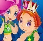 Pincesa e príncipe do mar