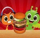 Preparar hamburguer dos monstros
