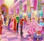 Quebra cabeça da Barbie no baile