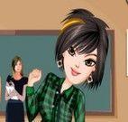 Roupas de emo na escola