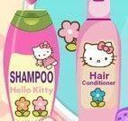 Salão de beleza da Hello Kitty