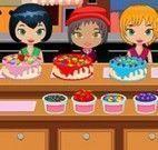 Servir bolos para crianças