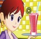 Suco de frutas da Sara