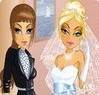 Vestir a noiva e as madrinhas de casamento