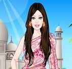 Vestir Barbie indiana