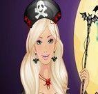 Vestir fantasia de halloween na Barbie