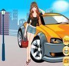 Vestir menina para passear de carro