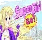 Voar com a super garota