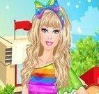 Vestir Barbie para ir ao shopping